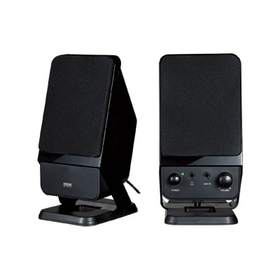 サンワサプライ MM-SPS3BK サンワサプライ マルチメディアスピーカー(ブラック) MM-SPS3BK P12Sep14
