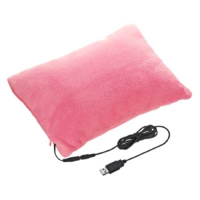 サンワサプライ USB-TOY60P サンワサプライ USBあったかクッション(ピンク) USB-TOY60P P12Sep14