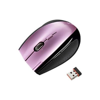 サンワサプライ MA-NANOLS7P サンワサプライ 極小レシーバーワイヤレスレーザーマウス(ピンク) MA-NANOLS7P P12Sep14