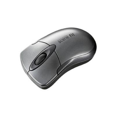 サンワサプライ MA-WHSFGM サンワサプライ ワイヤレス光学式マウス scene fit(ガンメタリック) MA-WHSFGM P12Sep14