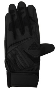adidas(アディダス) DO246 バッティンググローブ Basic Z52030 ブレイズピンク×メタリックシルバー 右手用(22〜23cm) P12Sep14