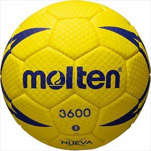 モルテン(molten) ヌエバX3600 ハンドボール 3号 H3X3600 ラテックスチューブ 特許登録済 縫い・人工皮革 P12Sep14