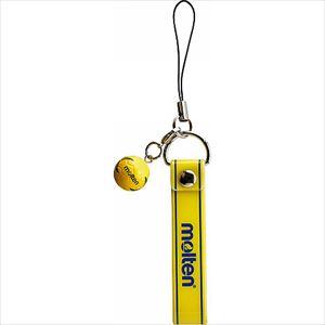 モルテン(molten) ハンドボール 携帯ストラップハンド KSHX 日本製 ボールフィギュア直径約1.5cm、ストラップ部長さ8×幅1.2cm P12Sep14