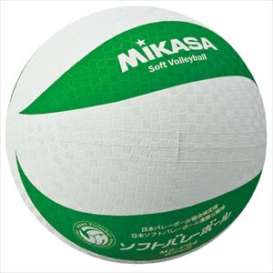ミカサ(mikasa) MS-F64-WG ソフトバレーボール 円周64cm 低学年用 P12Sep14