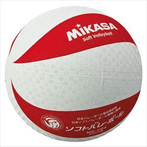 ミカサ(mikasa) MS-F64-WR ソフトバレーボール 円周64cm 低学年用 P12Sep14