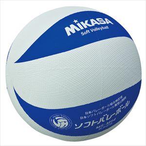 ミカサ(mikasa) MS-M64-WBL ソフトバレーボール 円周64cm 低学年用 P12Sep14