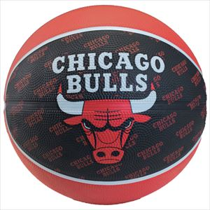 SPALDING スポルティング シカゴ ブルズ 7号 バスケットボール 73-933Z P12Sep14