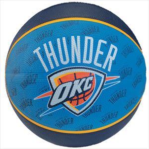 SPALDING スポルティング オクラホシティ サンダー バスケットボール 73-951Z P12Sep14
