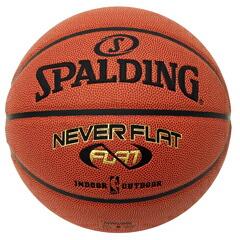 SPALDING スポルティング ネバーフラット 7号 バスケットボール 74-445J P12Sep14