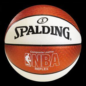 SPALDING スポルティング リフレックス バスケットボール オレンジ/ホワイト 74-573Z P12Sep14