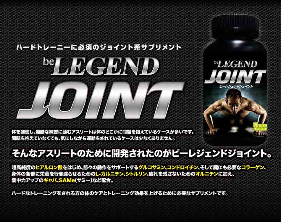 �ӡ��쥸����ɥ��祤��� -be LEGEND JOINT-