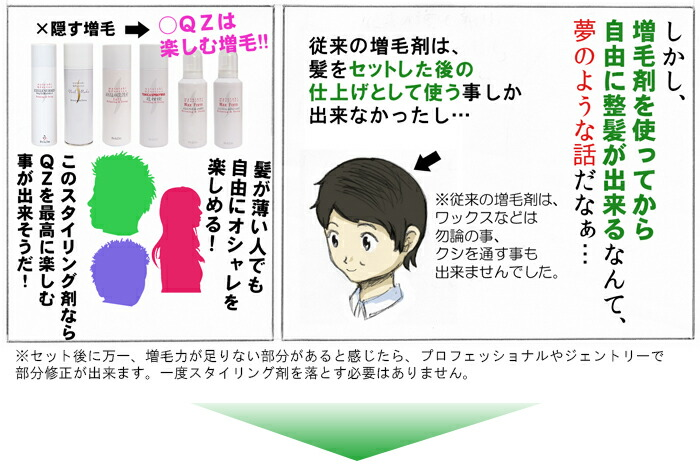 ヘアスタイリング剤マンガ2