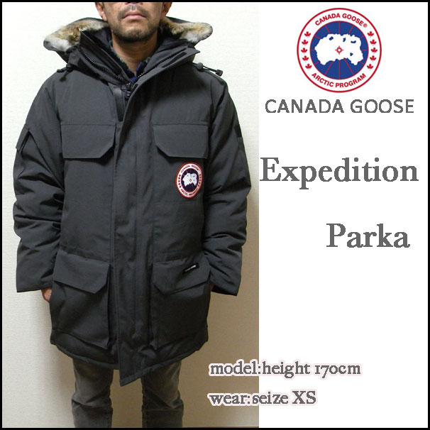 Canada Goose' Expedition Parka - Men's Large - Graphite