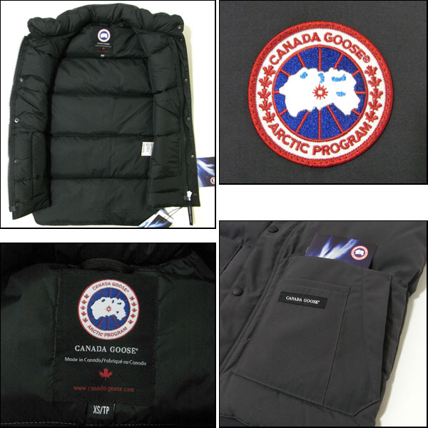 canada goose logo links of rechts