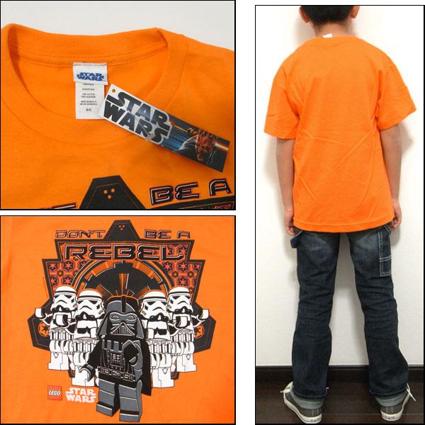 star wars shirt kids Orange