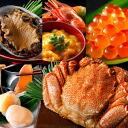 Quality Hokkaido seafood set sakura