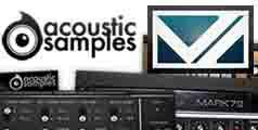 AcousticSamples,VI Labs��2�֥��ɴ�ָ��ꥵ�ޡ������롪