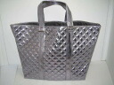 Marc Jacobs quilting tot silver M size unused fs3gm02P05Apr14M02P02Aug14