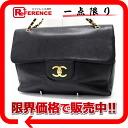"Chanel caviar skin large 45 chain shoulder bag (black beauty) ""enabled."""