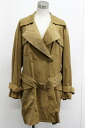 Gucci Womens trench coat 40 Brown? s support.""