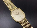 "Omega Sun Devil men's watch quartz gold platings? s support.""fs3gm"