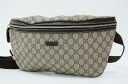 "Gucci JOY (joy) GG plus body bag beige x Brown 211110 ""response.""-fs3gm"
