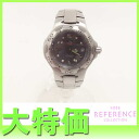 """Fs3gm Tag Heuer kirium professional 200 m women's watch quartz grey character Panel battery has been replaced WL1311 """"enabled."""""""
