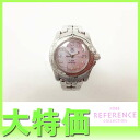 "Tag Heuer link 200 m women's watch quartz 11 P Diamond Pink shell characters Edition WT141Q ""response.""-fs3gm"