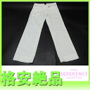 "Emporio Armani Womens pants 38 fs3gm white ""support."""