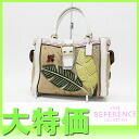 "Coach レディバグボクシートート bag natural * white 4,439? s support.""fs3gm"