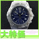 "Tag Heuer 2000 exclusive professional 200 m chronograph mens watch SS blue character dial quartz CN1112 ""enabled."""