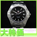 "Tag Heuer Aquaracer 300 m mens watch SS quartz WAF1110 ""response.""-fs3gm"