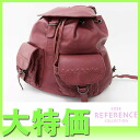 "Bottega Veneta intrecciato backpack red series 155095 ""response.""-fs3gm"