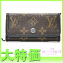 "Fs3gm Louis Vuitton モノグラムマカサー multicore 6 6 key holder M60165 ""enabled."""