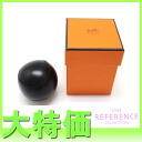 "Unused Hermes novelty hinoki-Cho Park shops open memorabilia lambskin ball I ever-black ""response.""-fs3gm"