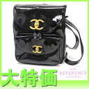 "Chanel enamel backpack black ""response.""-fs3gm02P05Apr14M"
