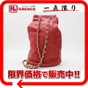 Chanel lambskin purse shoulder bag Rouge (red) s correspondence.""