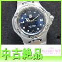 "Fs3gm Tag Heuer kirium professional 200 m men's Watch Blue character Panel SS quartz WL1213 beauty products ""enabled."""