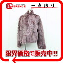 Fox fur Lady's coat purple system 》 fs3gm 02P05Apr14M for 《