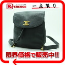 CHANEL caviar skin rucksack black 》 fs3gm for 《