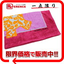 "Hermes cotton elephant beach towel pink * orange unused ""response.""-fs3gm"