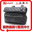 CHANEL here cocoon rucksack black nylon quilting A47094 》 fs3gm for 《