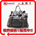 支持男子普拉達皮革手提包商務手提包黑色×棕色VR0045《的》fs3gm 02P05Apr14M