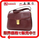 Mila Schon leather shoulder bag Bordeaux 》 fs3gm for 《
