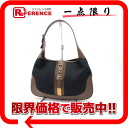 Gucci Jackie bag セミショルダー black * fs3gm Brown s correspondence.""