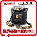 "Chanel lambskin matelasse mini backpack black ""response.""-fs3gm02P05Apr14M"