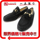 6.5 gucci bit suede Lady's loafer black beauty product 》 fs3gm 02P05Apr14M for 《