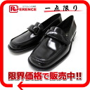 37.5 PRADA Lady's leather loafer black beauty product 》 fs3gm for 《