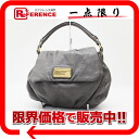 Mark by MARC BY marc jacobs leather semi-shoulder bag gray 》 fs3gm for 《