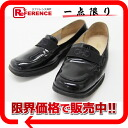 6.5 Ferragamo enamel loafer black 》 fs3gm 02P05Apr14M for 《